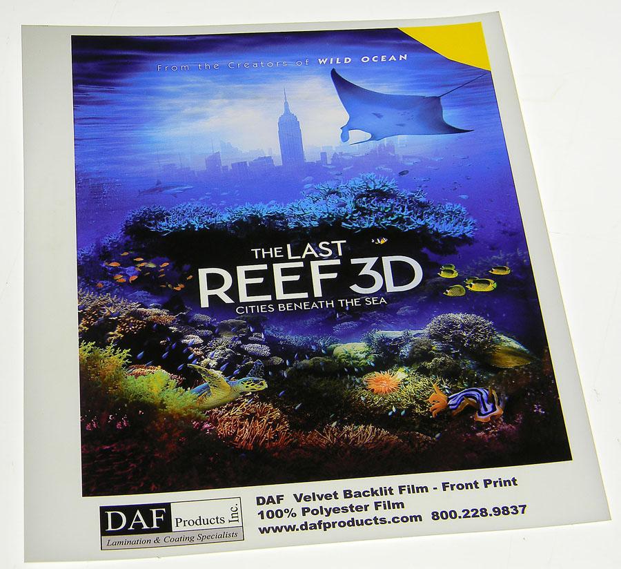 Daf Gloss Backlit Film Daf Graphic Media
